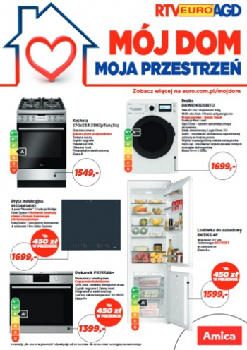 Katalog Rtv Euro Agd Mój Dom Moja Przestrzeń