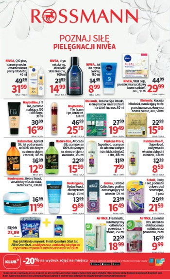Rossmann od 30.10 do 9.11