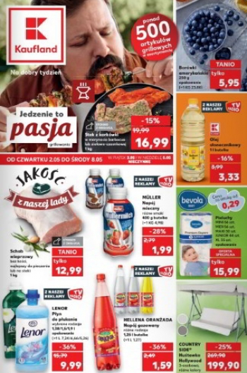 Kaufland od 2.05 do 8.05