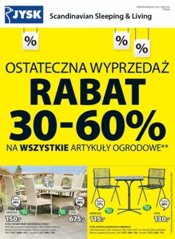 Jysk Od 2507 Do 708 Gazetkapromocyjna24