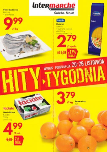 Intermarche od 20.11 do 26.11