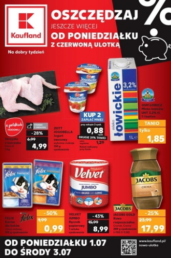 Kaufland od 1.07 do 3.07