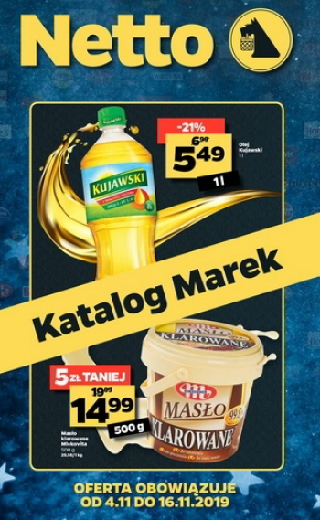 Netto od 4.11 do 16.11