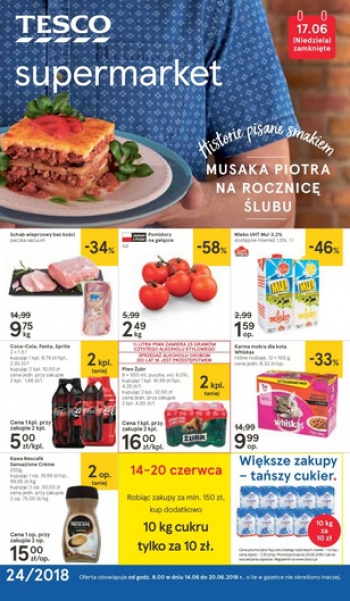 Tesco od 14.06 do 20.06