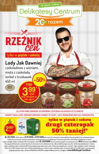 Delikatesy Centrum od 11.07 do 17.07