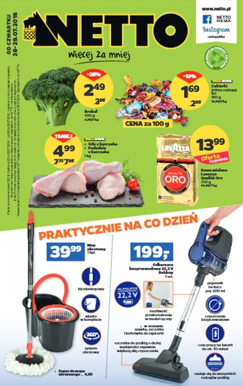 Netto od 26.07 do 29.07