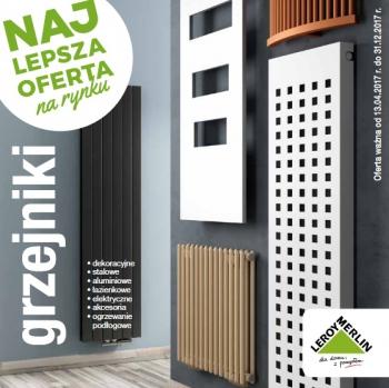 Katalog Leroy Merlin Grzejniki Gazetkapromocyjna24