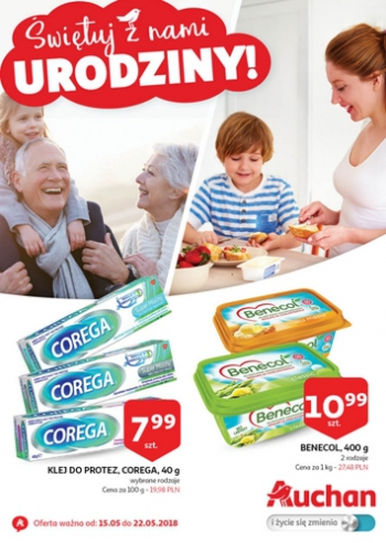 Auchan od 15.05 do 22.05