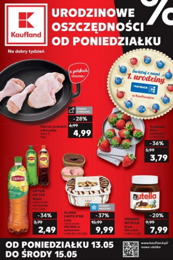 Kaufland od 13.05 do 15.05