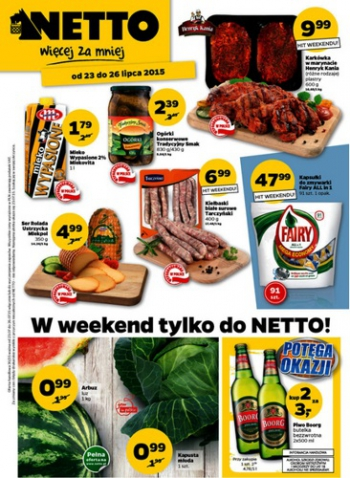 Netto od 23.07 do 26.07