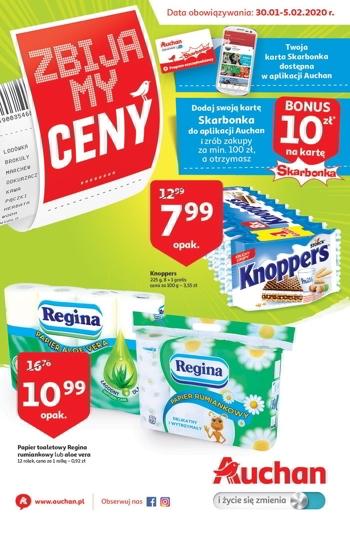 Auchan od 30.01 do 5.02 GazetkaPromocyjna24