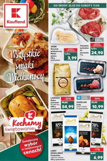 Kaufland od 25.03 do 11.04