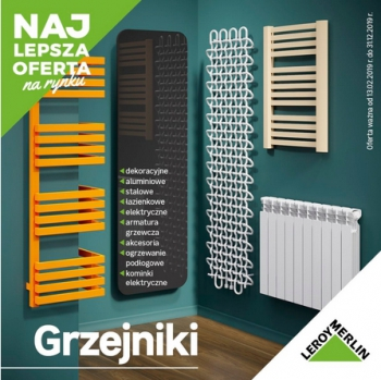 Katalog Leroy Merlin Grzejniki 2019 Gazetkapromocyjna24