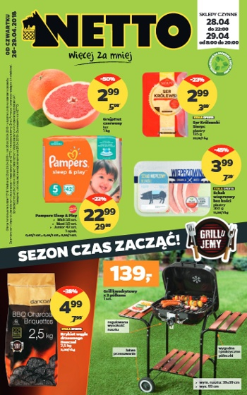 Netto od 26.04 do 29.04